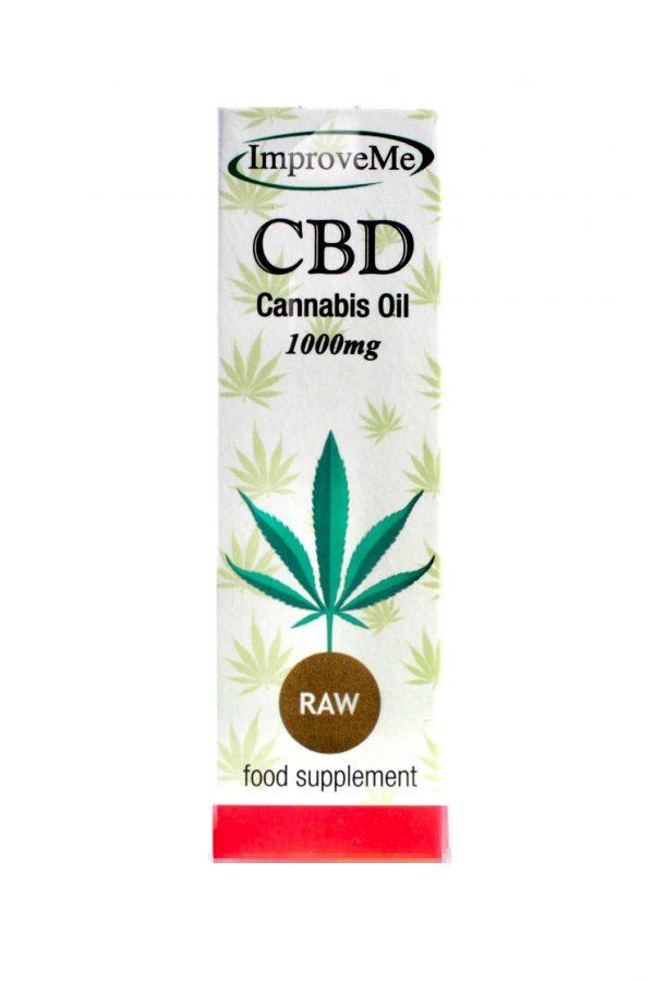 ImproveMe CBD Raw Full Spectrum Oil 1000mg