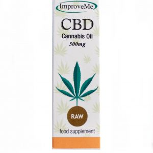 ImproveMe CBD Raw Full Spectrum Oil 500mg