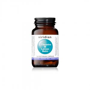 Viridian L-Theanine and Lemon Balm 30 caps