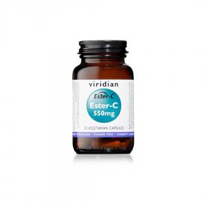 Viridian Ester-C 550mg 30 caps