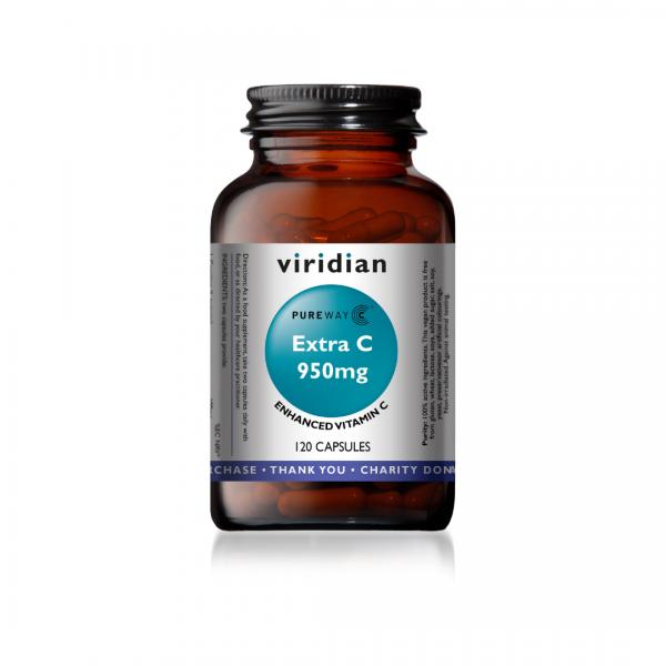 Viridian Extra C 950mg 120 caps
