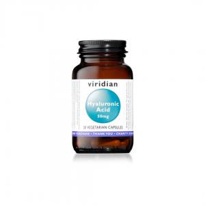 Viridian Hyaluronic Acid 50mg 30 caps