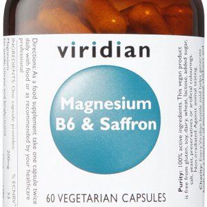 Viridian Magnesium B6 & Saffron