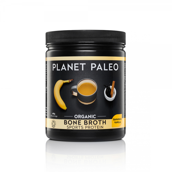 Planet Paleo Organic Bone Broth Sports Protein