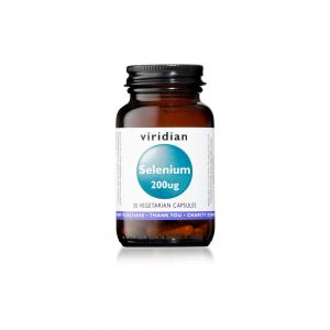 Viridian Selenium 200μg 30 caps