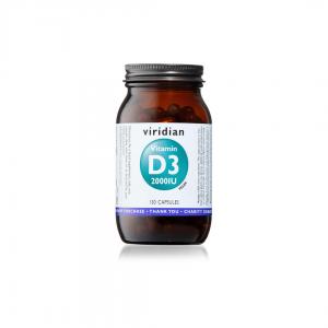 Viridian Vitamin D3 2000IU 150 caps
