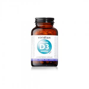 Viridian Vitamin D3 2000IU 60 caps