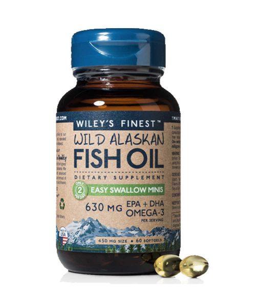 Wiley's Finest Wild Alaskan Fish Oil Mini EPA & DHA