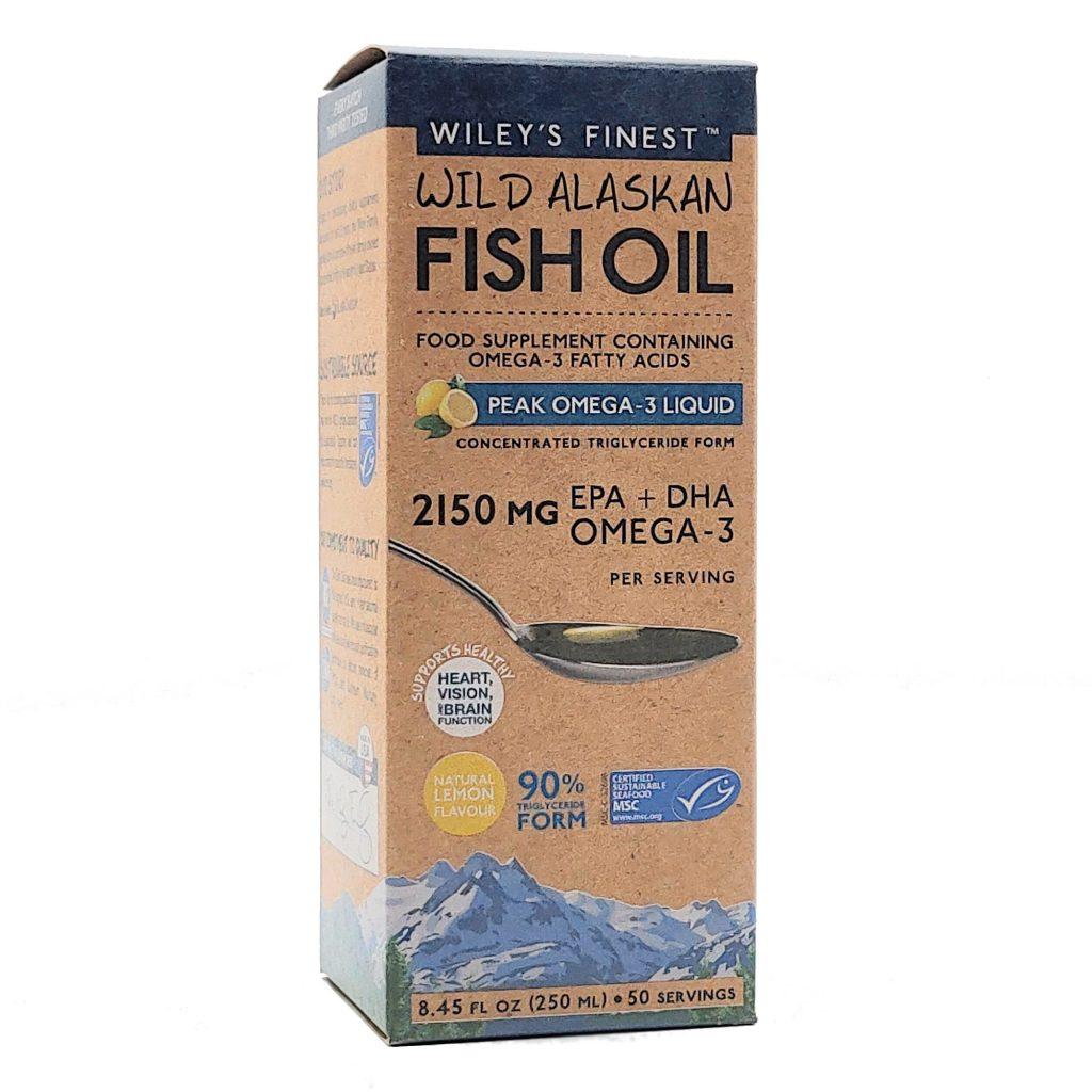 Wiley's Finest Peak EPA & DHA Liquid