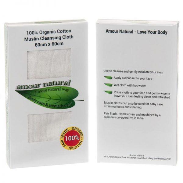 Amour Natural Muslin Cloth