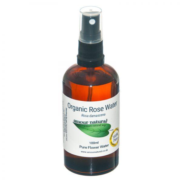 Amour Natural Organic Rose Water