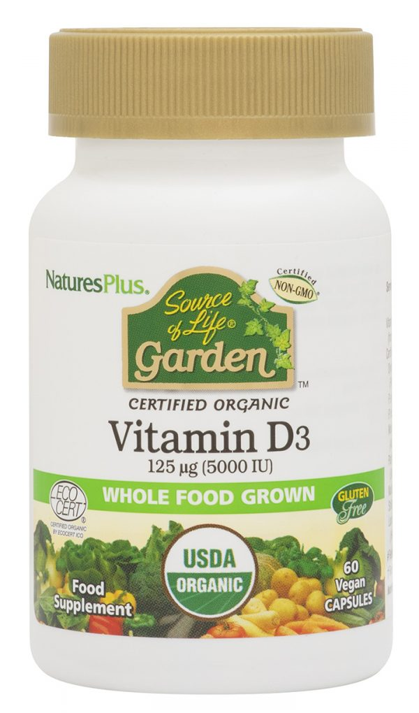 Natures Plus Source of Life Garden Vitamin D3
