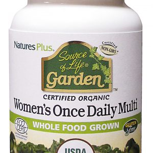 Natures Plus Source of Life Garden Organic Women's Daily Multivitamins