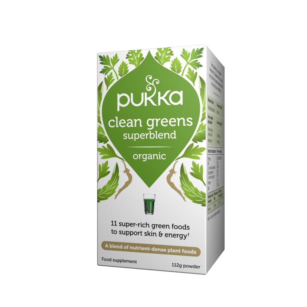 Pukka Clean Greens Superblend
