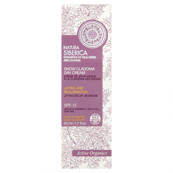 Natura Siberica Snow Cladionia Day Cream