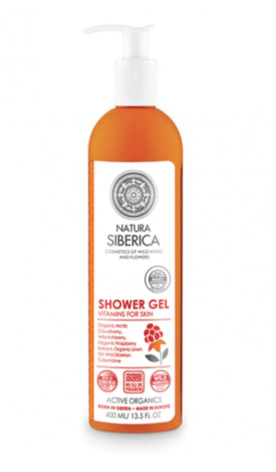 Natura Siberica Vitamins for Skin Shower Gel