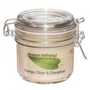 Orange Clove & Cinnamon Candle