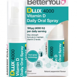 BetterYou Dlux 4000 Vitamin D Oral Spray