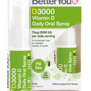 BetterYou Vitamin D 3000IU Oral Spray