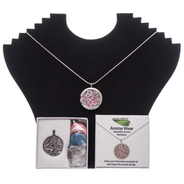 Amour Natural Swirl Aroma Necklace