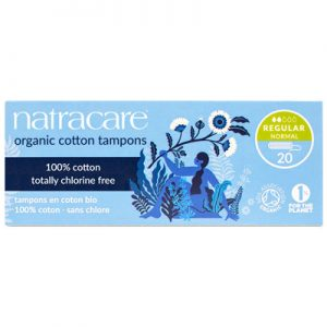 Natracare Non-Applicator Tampons Regular