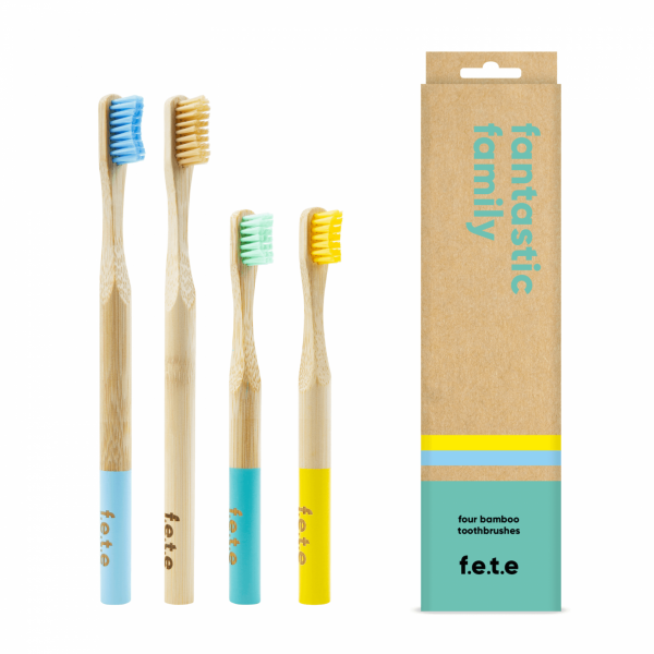 f.e.t.e. Multipack Toothbrushes Fantastic Family