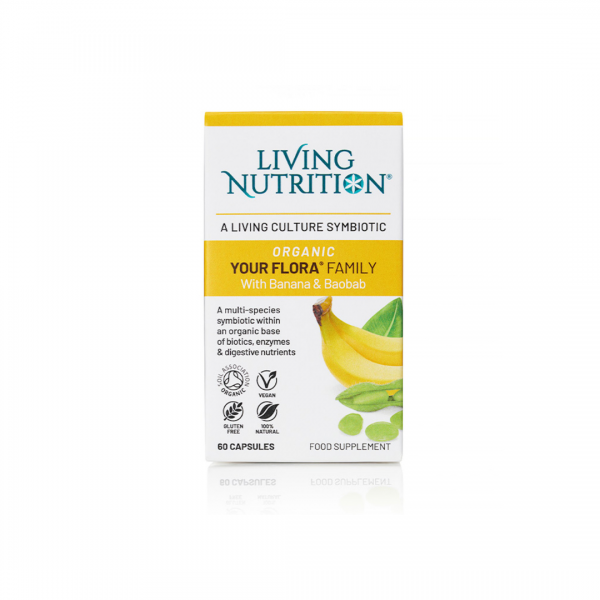 Living Nutrition Organic Your Flora Family